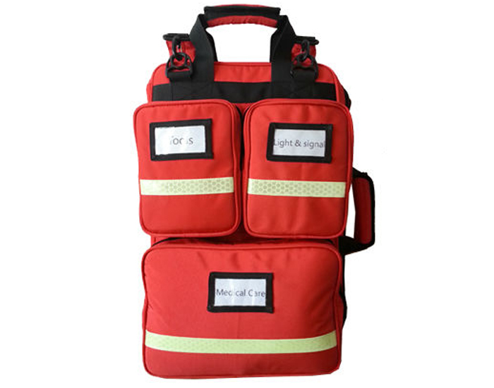 First responder emergency backpack bag