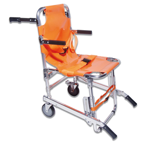 Aluminum Material Folding Stair Chair Stretcher with PVC Mattress