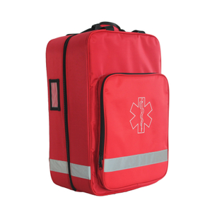Multi-functional emergency medical first aid bag
