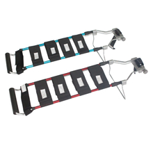 First aid aluminum alloy adjustable traction splint for adult