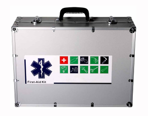 Small Aluminum First Aid Kit For Emergency Equipment