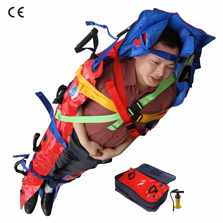 Vacuum Mattress with Head Immobilizer